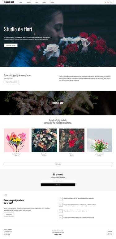 Floral & Shop - Template